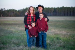 Randall, Debbie and Grand boys